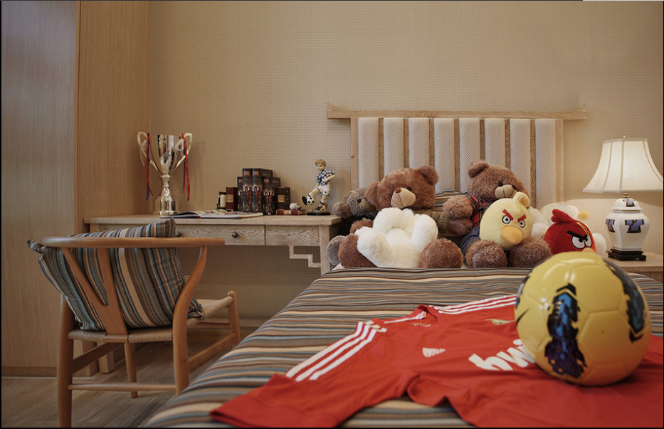简约 欧式 田园 混搭 四居室 南湖国际 卧室图片来自尚品老木匠装饰在南湖国际-中式风格的分享