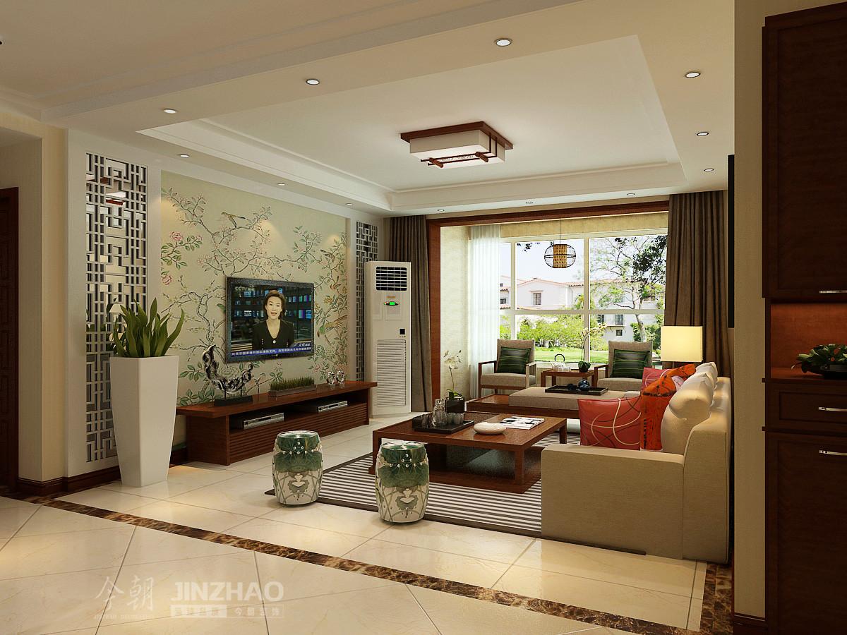 客厅图片来自石家庄今朝装饰在142平面-省政协嘉苑小区的分享