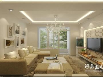 美林河畔98平户型现代风格设计