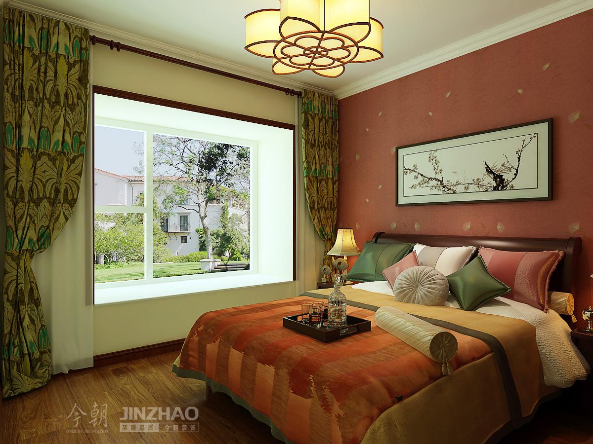 卧室图片来自石家庄今朝装饰在142平面-省政协嘉苑小区的分享