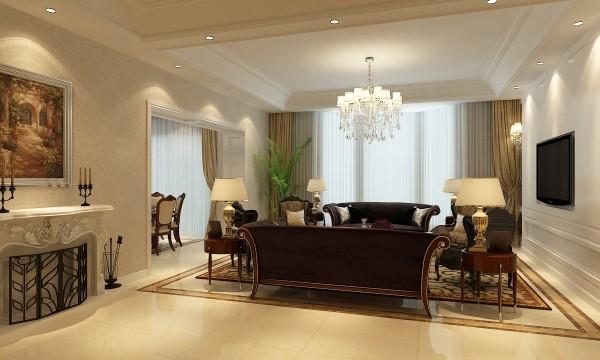 泗泾颐景园别墅户型装修欧式风格设计方案展示——上海聚通装潢!