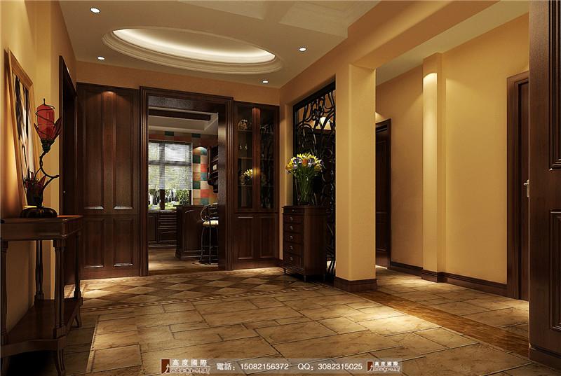 高度国际 餐厅图片来自成都高端别墅装修瑞瑞在浪漫田园风-----成都高度国际的分享