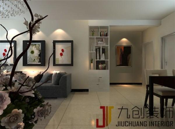 整个设计,给人感觉一种现代的温暖,让人疲惫了一天在这个家里得到舒适,舒心。