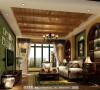 中环岛客厅细节效果图-----成都高度国际装饰