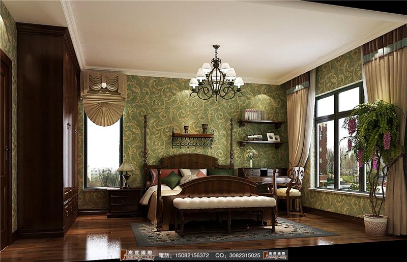 高度国际 卧室图片来自成都高端别墅装修瑞瑞在浪漫田园风-----成都高度国际的分享