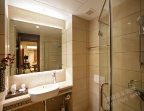 简约 中式 时尚 温馨 雅致 卫生间图片来自青岛德瑞意家装饰郭欣在新中式风格案例欣赏的分享