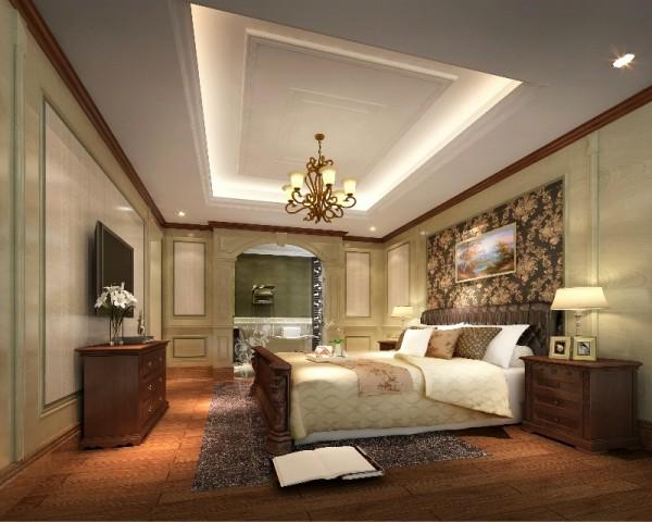 整个房间采用的浅绿色护墙板,十分的养眼统一与环保,实木的美式家具融入其内,也造就了美式风格的原木的自然其自在、随意的不羁生活方式,有文化感、有贵气感,还不能缺乏自在感与情调感。