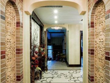 自建房 400平米 东南亚式 别墅