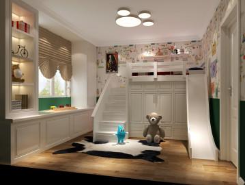 【美式】188平五居室装修案例