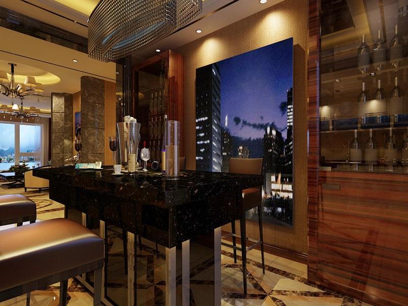 三居 港式 餐厅图片来自沈阳新饰家装饰在丽湾尚品160平米 幸福从现在开始的分享