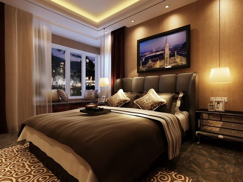 三居 港式 卧室图片来自沈阳新饰家装饰在丽湾尚品160平米 幸福从现在开始的分享