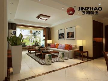 省政协宿舍142平中式风格