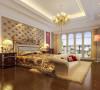 卧室地板用了经典色地板,吊顶做了凹凸造型,拉伸层高,床的背景用了软包装饰,增加保温性