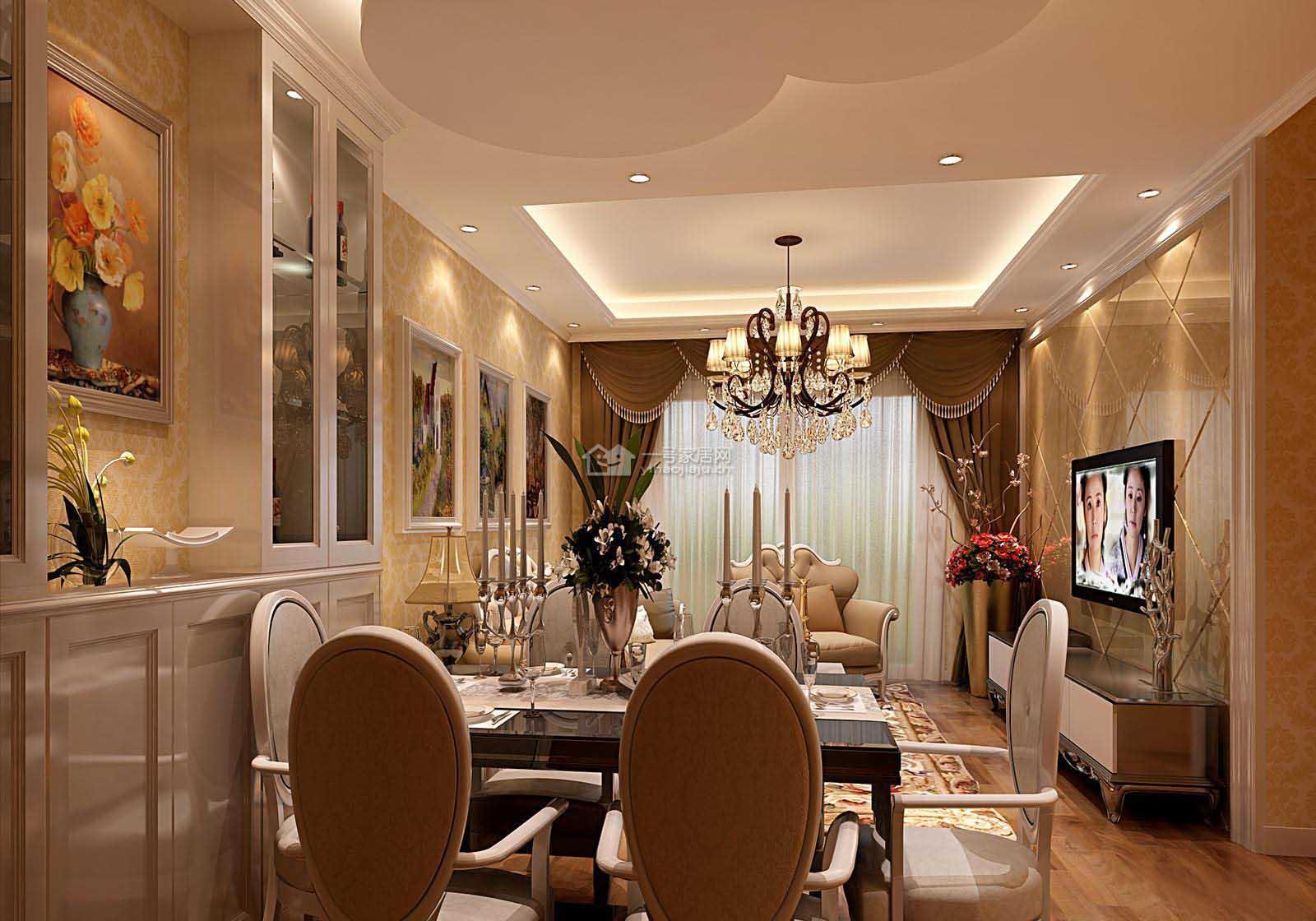 欧式 金地翔悦天 西安装修 实创装饰 76平 客厅图片来自实创小莹在【西安实创装饰】76平精致简欧的分享