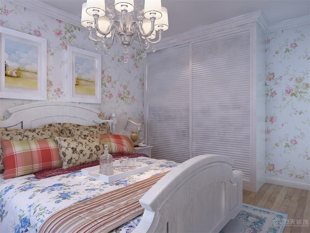 田园 一居 白领 收纳 80后 小资 卧室图片来自阳光放扉er在宏泰公寓小区-62平米-田园风格的分享