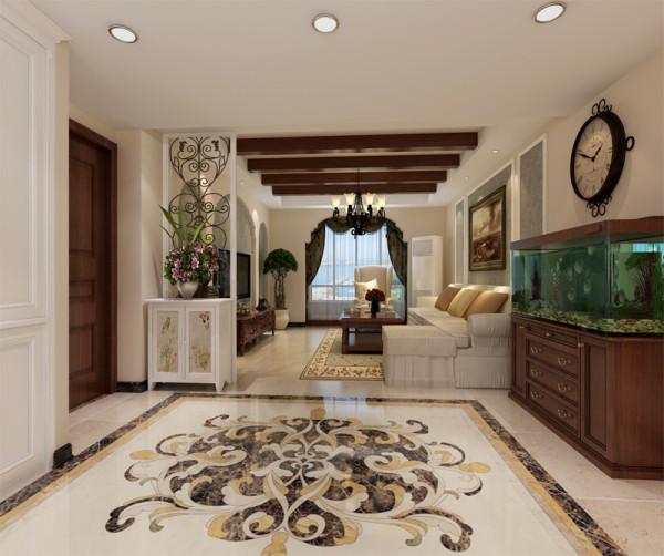 家居自由随意、简洁怀旧、实用舒适;暗棕、土黄为主的自然色彩;欧洲皇室家具平民化、古典家具简单化;家具宽大、实用舒适;
