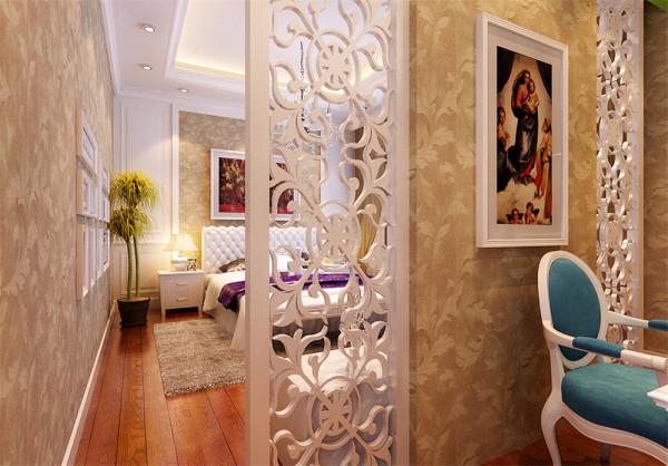 加以客厅软包装饰,来修饰这一空间,合理的界定了功能空间,根据不同的区域进行了内容与诸元素的有机调配,营造并强化了各功能空间的特定气氛。本案整体风格高雅、含蓄。
