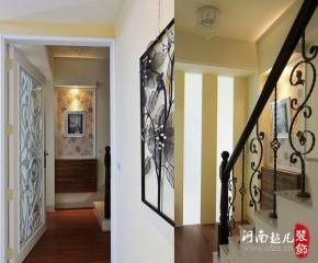 北欧 三居 欧式 楼梯图片来自超凡装饰邓赛威在德润黄金海岸装修案列请欣赏的分享