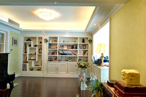 书房图片来自武汉豪迪装饰公司在南车花园的分享