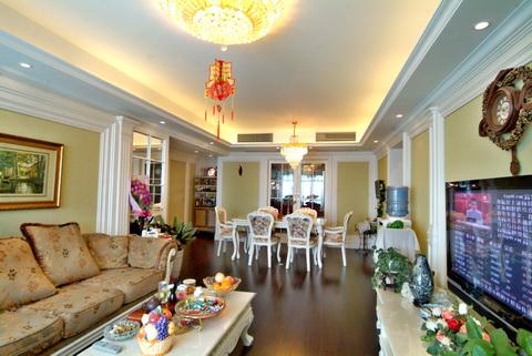 客厅图片来自武汉豪迪装饰公司在南车花园的分享