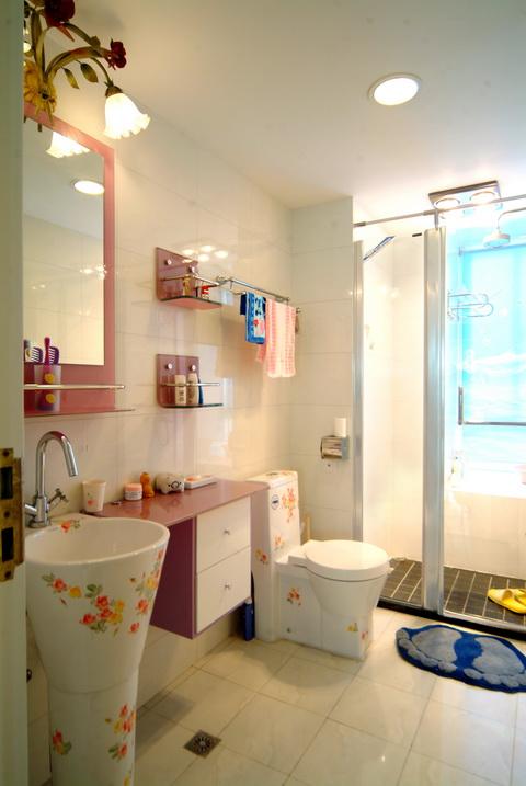 卫生间图片来自武汉豪迪装饰公司在南车花园的分享
