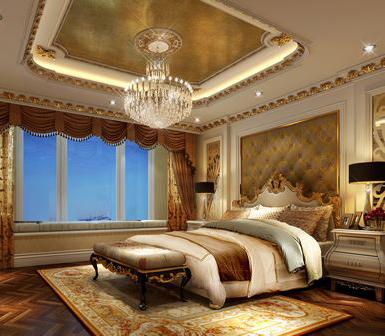 欧式 三居 别墅 卧室图片来自乔马强在联盟新城欧式风格的分享