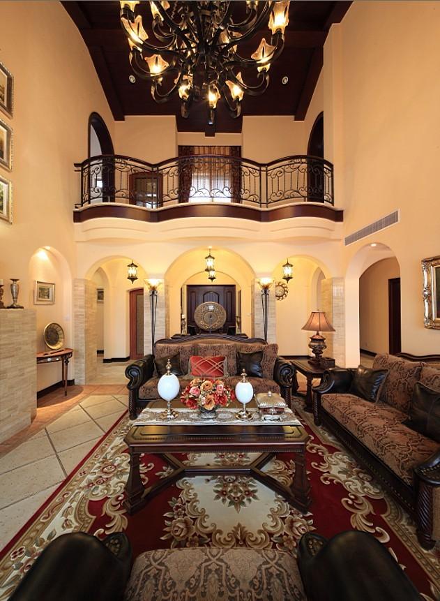 别墅装修 装修风格 西班牙风格 别墅软装 软装设计 室内设计 客厅图片来自别墅装修设计yan在品质生活西班牙风格的分享