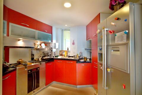 厨房图片来自武汉豪迪装饰公司在南车花园的分享