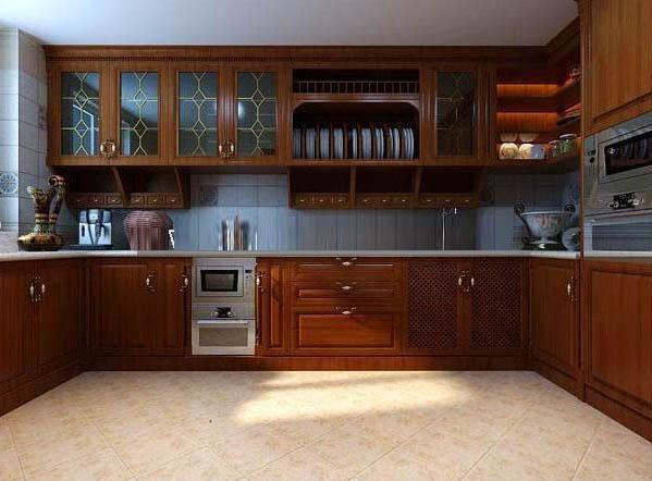 欧式 三居 别墅 厨房图片来自乔马强在联盟新城欧式风格的分享
