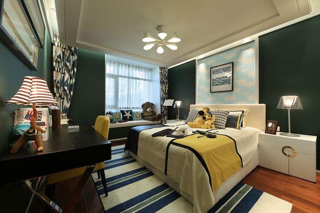 日升装饰 卧室图片来自装修设计芳芳在127平新中式风格的分享