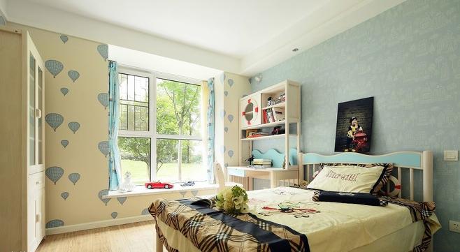 卧室图片来自超凡装饰邓赛威在正商蓝海港湾130平装修设计的分享
