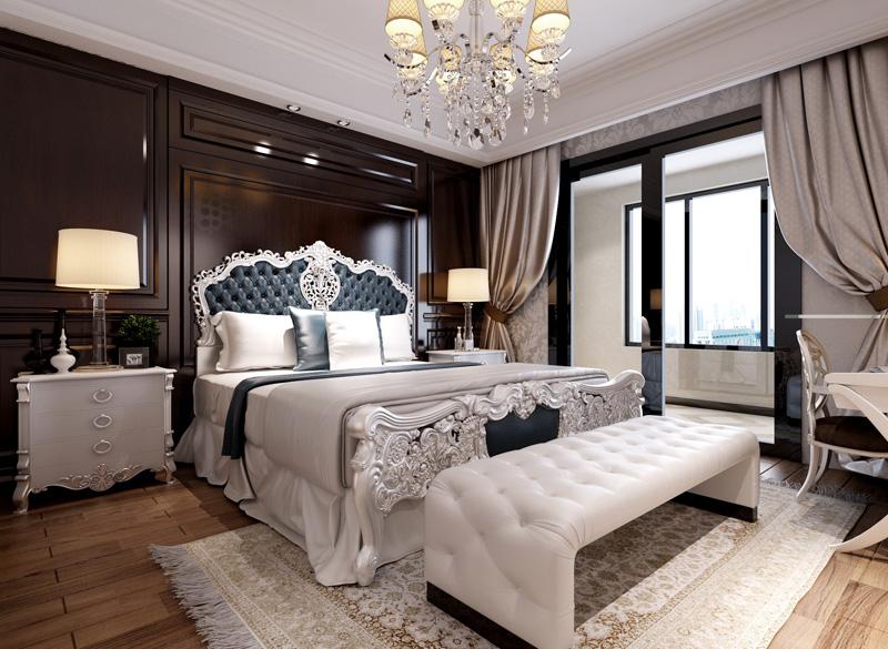 欧式 三居 简明 经济 实用 舒适 卧室图片来自武汉嘉年华装饰在百瑞景的分享