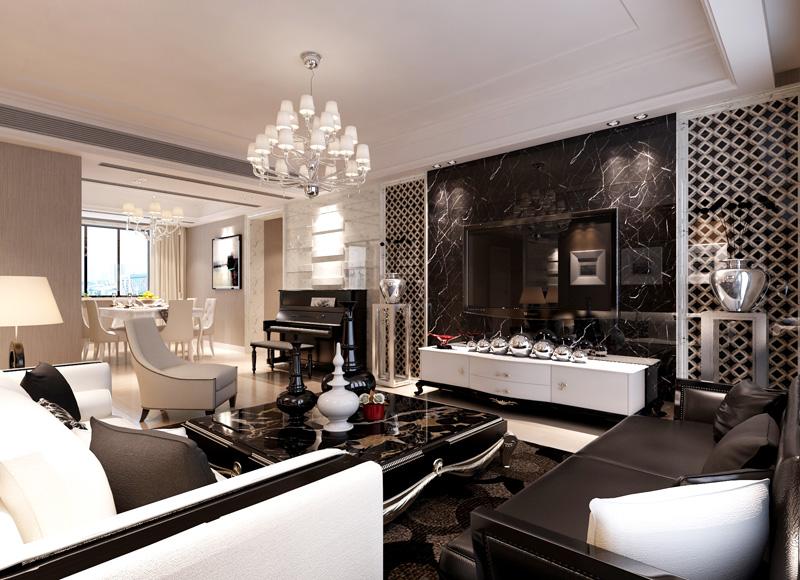 欧式 三居 简明 经济 实用 舒适 客厅图片来自武汉嘉年华装饰在百瑞景的分享