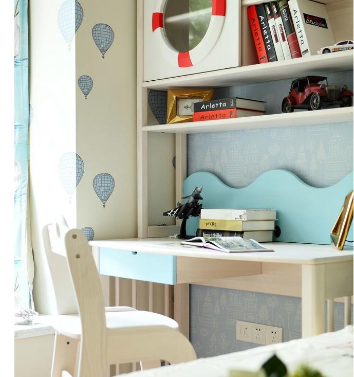 儿童房图片来自超凡装饰邓赛威在正商蓝海港湾130平装修设计的分享