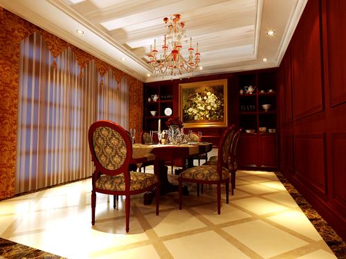 欧式 新古典欧式 别墅 餐厅图片来自孙文强在森林半岛新古典欧式的分享