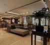 190平新中式风格四居室装修