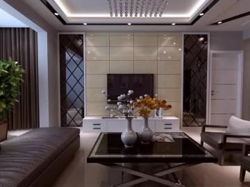 观江国际102平现代简约两居室