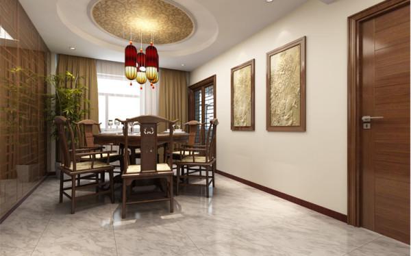 设计理念:餐厅空间与客厅一样,是整个建筑空间内比较重要的一个组成部分,现今社会的嘈杂与人们对生活的压力或多或少会使人精神萎靡,怎样能让我们在繁琐的工作以后可以轻松愉快的在家里享受一顿美食呢?