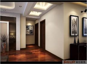 二居 小资 中式 装修 实创装饰 楼梯图片来自孙进进在90平米现代新中式幸福三口之家的分享