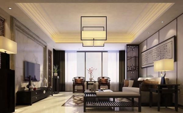 新中式装饰风格的客厅以朱红、绛红、咖啡等为主色调,所以新中式客厅显得尤为庄重。新中式客厅装修还有一个最大的特色,就是特别耐看,百看不厌。