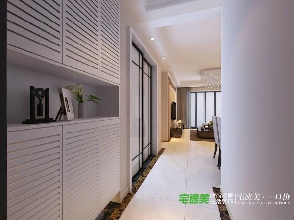 信达荷塘月色三室两厅115平欧式风格装修效果图By芜湖宅速美装饰