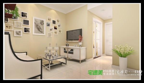 东方龙城三室两厅104平欧式风格装修效果图By芜湖宅速美装饰
