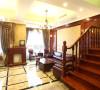 复地朗香复式楼--美式古典风