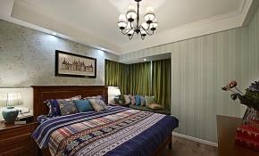 美式 小清新 浅色系 90后 婚房 卧室图片来自佰辰生活装饰在89方温馨美式90后婚房的分享