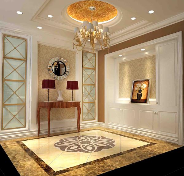整体空间呈现出高贵华丽的贵族生活,设计上用色计调以浅色系为主,深色在局部加以点缀,充分体现了素雅、不艳丽,既符合现代的审美潮流,又迎合成功人士低调、奢华的生活心态。