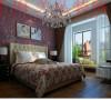 瀚宇天悦87平现代简约风格卧室装修效果图