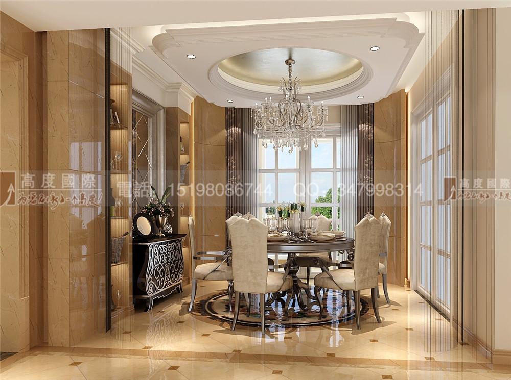 中粮祥云 餐厅图片来自成都高度国际别墅装饰在中粮祥云——新古典主义风格的分享