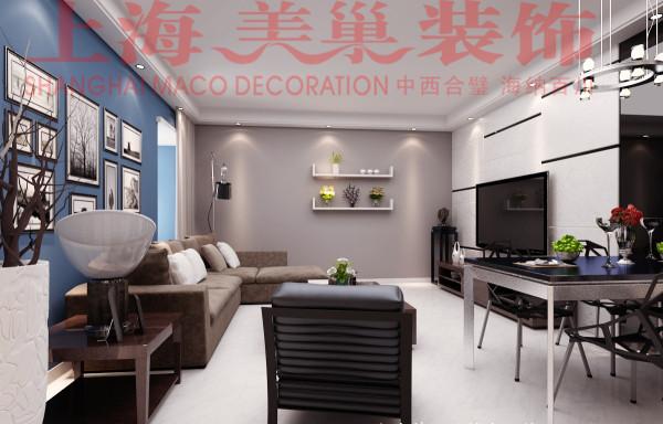 郑州瀚宇天悦87平3室2厅现代简约风格客厅装修效果图