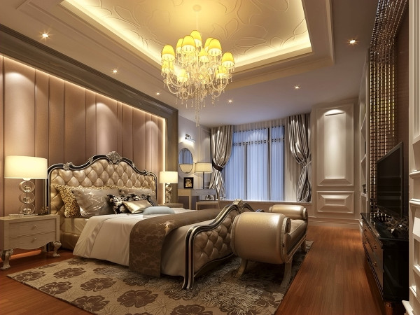 要保证私密性。私密性是卧室最重要的属性,它不仅仅是供人休息的场所,还是夫妻情爱交流的地方,是家中最温馨与浪漫的空间。