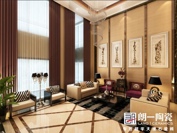 1.光泽柔和,质感细腻,色彩柔顺,层次分明,空间感极强。 2.经典空间元素的搭配,让你置身其中感受空间低调奢华,优雅从容展现。 3.时尚华贵,大气精致,暖色调的应用充满了家的温馨。